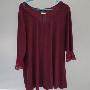 Tops - Purple dressy blouse